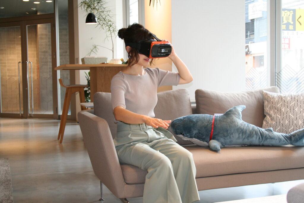 VR、不動産、内覧